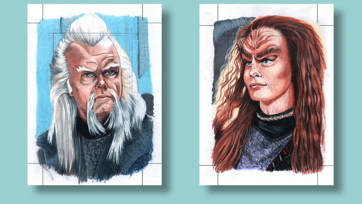 Star Trek Sketch cards